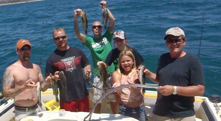 family fun deep sea fishing